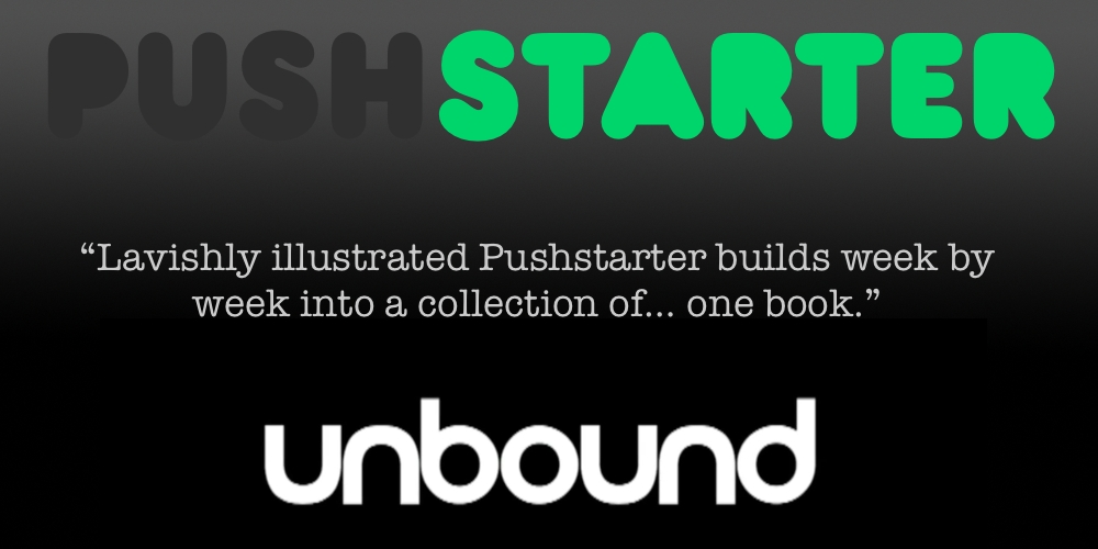 Pushstarter Unbound Book - Yes! A book!